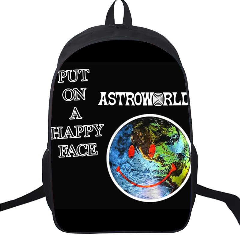 New Double Layer Travis Scotts Look Mom I Can Fly Backpack