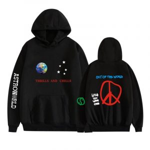 Thrills and Chills Out Of the World Hoodie