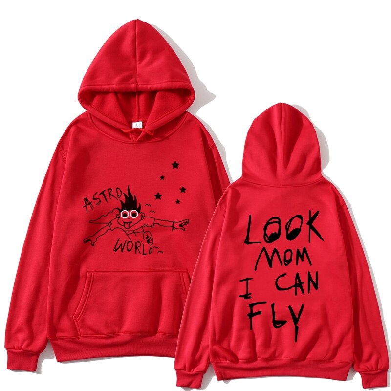 Travis Scott Astroworld Look Mom I Can Fly Astroworld Hoodie