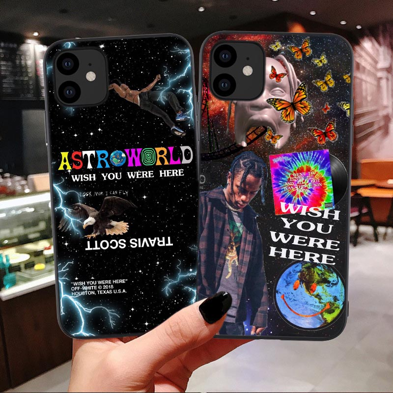 Astroworld Wish You Were Here Soft Phone Case