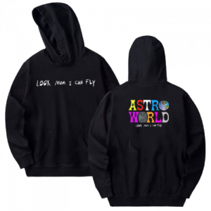 Astroworld Look Mom I Can Fly Hoodie