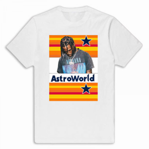 AstroWorld Colored Poster Tee